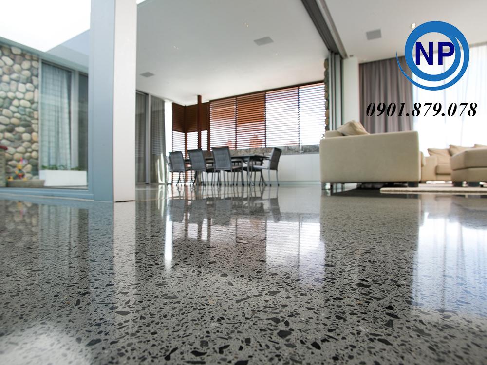 đánh bóng, phục hồi sàn đá Granite, Marble