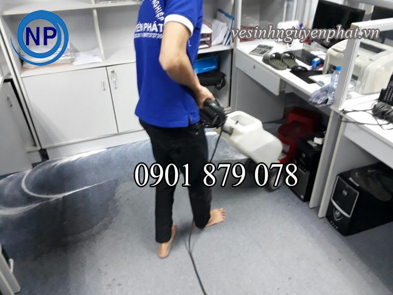 Dịch vụ giặt thảm văn phòng uy tín chất lượng tại tp HCM