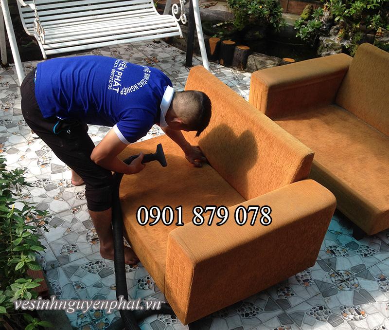 Dịch vụ giặt ghế sofa tại nhà nhanh chất lượng ở TP HCM