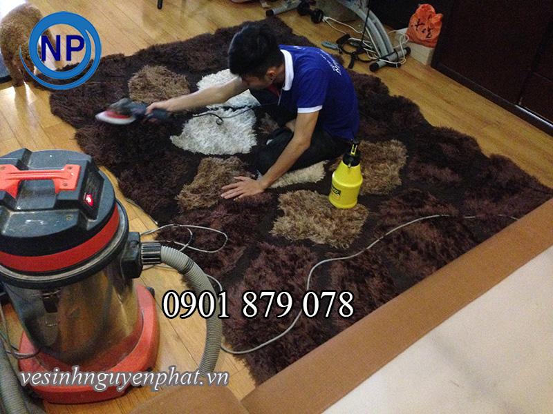 Dịch vụ giặt thảm trang trí uy tín và chất lượng tại tp HCM