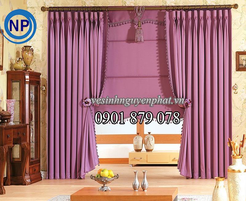 Dịch vụ giặt rèm cửa tại nhà Uy Tín khu vực TP HCM