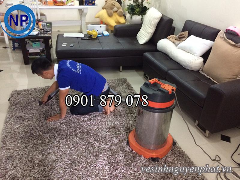Dịch vụ giặt thảm trang trí giá rẻ uy tín nhất tại quận 1 TP HCM