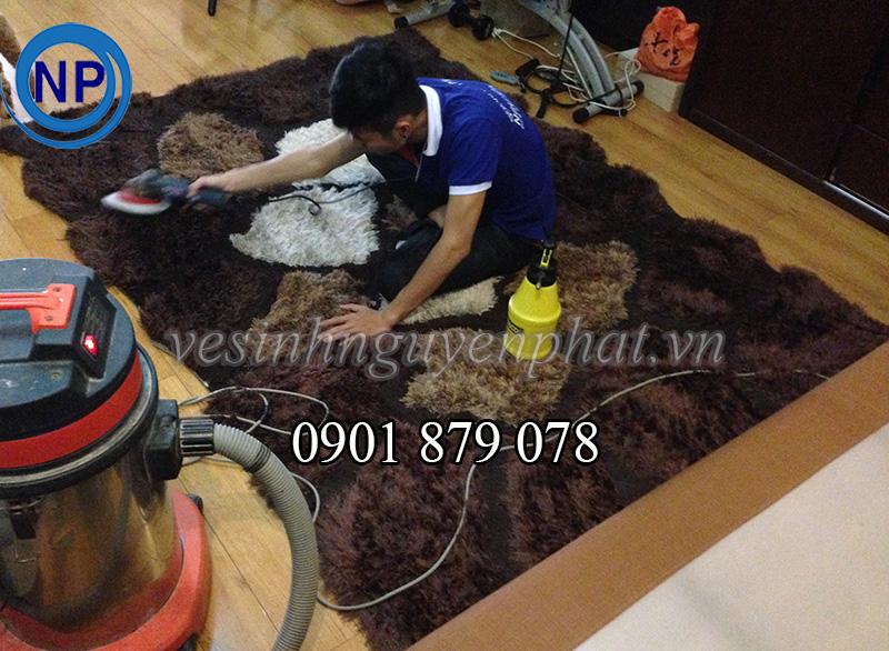 giặt thảm trang trí tại nhà tphcm