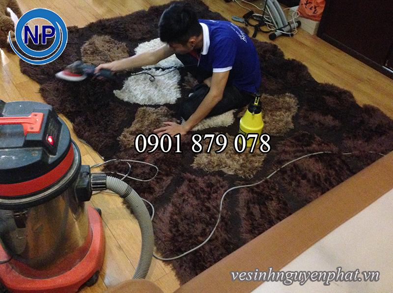 Dịch vụ giặt thảm trang trí tại quận 3 TP HCM