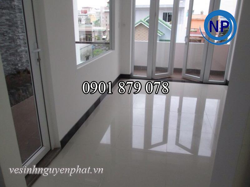 Tổng vệ sinh sau xây dựng nhà anh Hưng – Q.Tân Bình