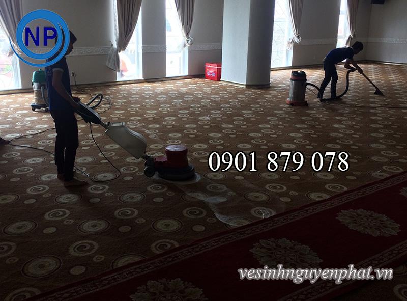 Giặt thảm văn phòng giá rẻ tại quận Bình Thạnh TP HCM