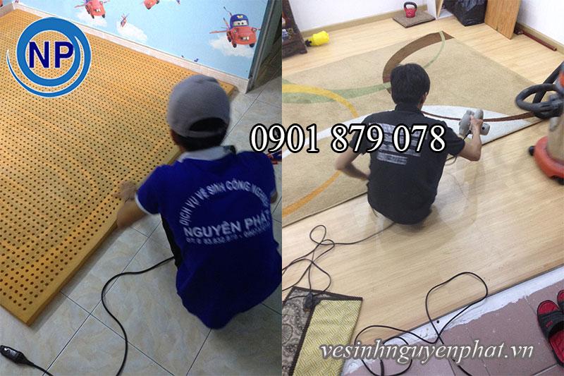 Công ty giặt thảm trang trí chuyên nghiệp tại HCM 1