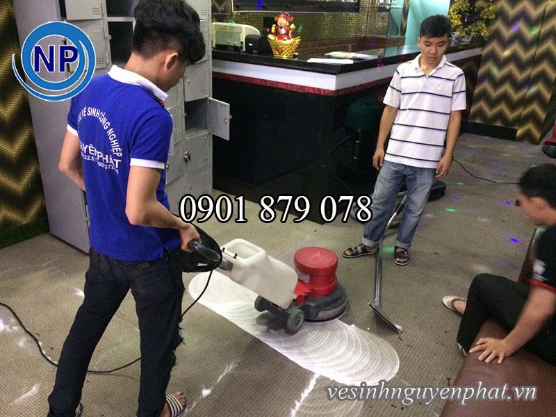 Dịch vụ giặt thảm phòng bida, câu lạc bộ bida