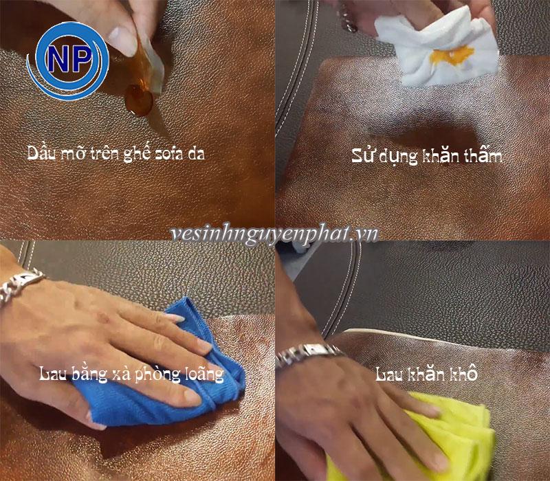 Cách vệ sinh và làm sạch ghế sofa da tại nhà