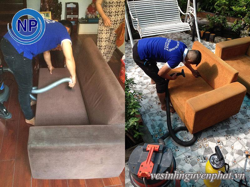Dịch vụ giặt ghế sofa tại nhà quận Bình Thạnh-HCM