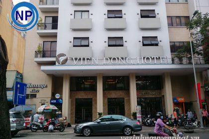 Giặt ghế sofa 40 phòng tại Viễn Đông HOTEL