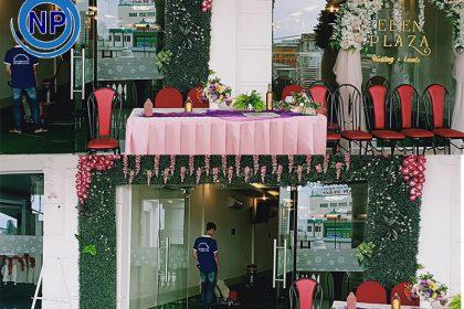 Giặt thảm tại EDEN Laza – Tên cũ Nhà hàng tiệc cưới Phố Đôi